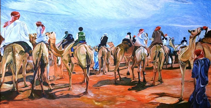 Camel Race - Master Dennis