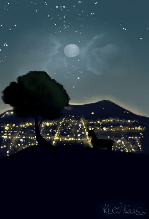 A Quiet Night - My Art