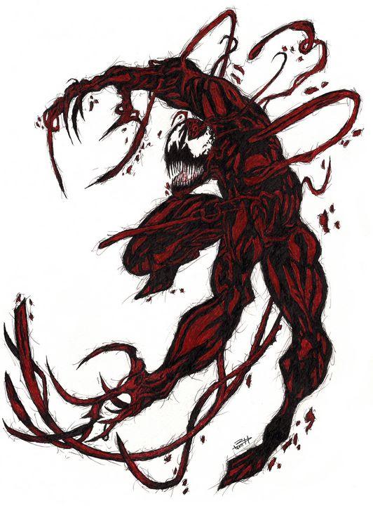 Carnage - Brendan Herlacher's Art