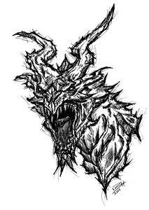 Alduin Skyrim Dragon