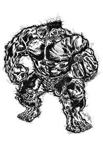 The Incredible Hulk - Brendan Herlacher's Art