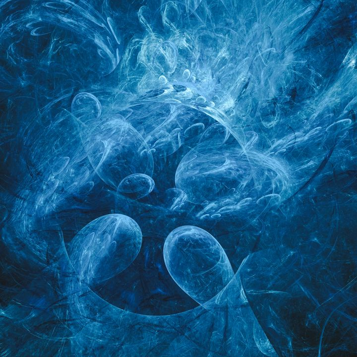 Chaotic dancing waters - shesha_rt