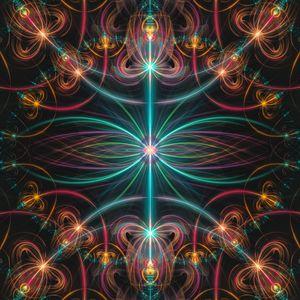 Fluorescent laser beams