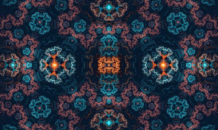 Detailed symmetrical pattern - shesha_rt