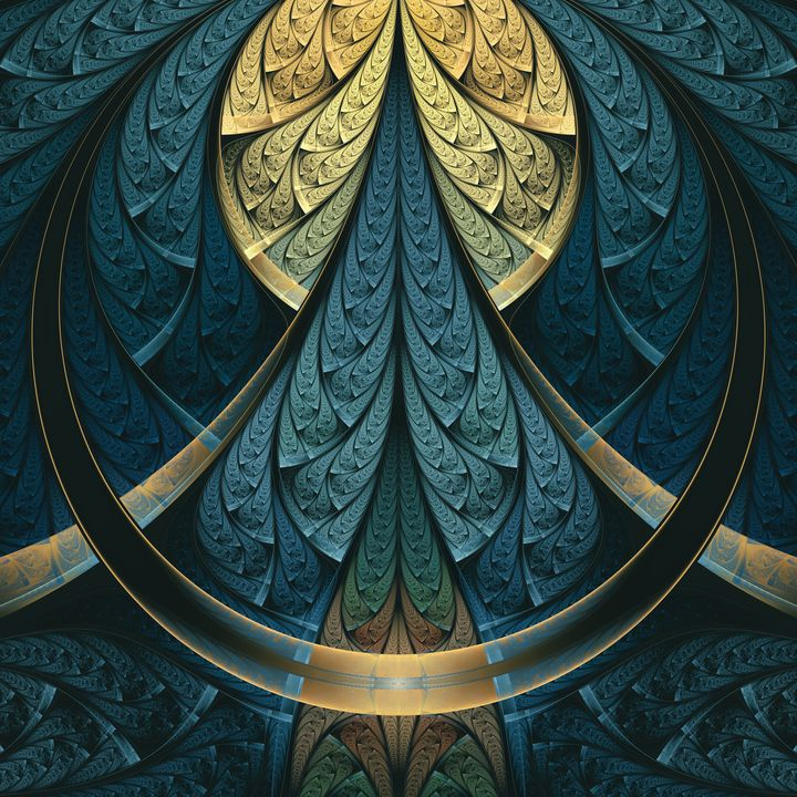 Abstract braided shapes - shesha_rt