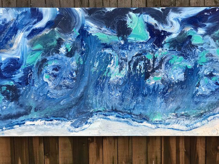 Ocean swirl - ArtbyCDY