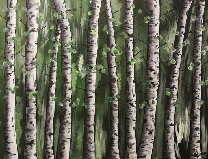 Forest - Forever Paintings