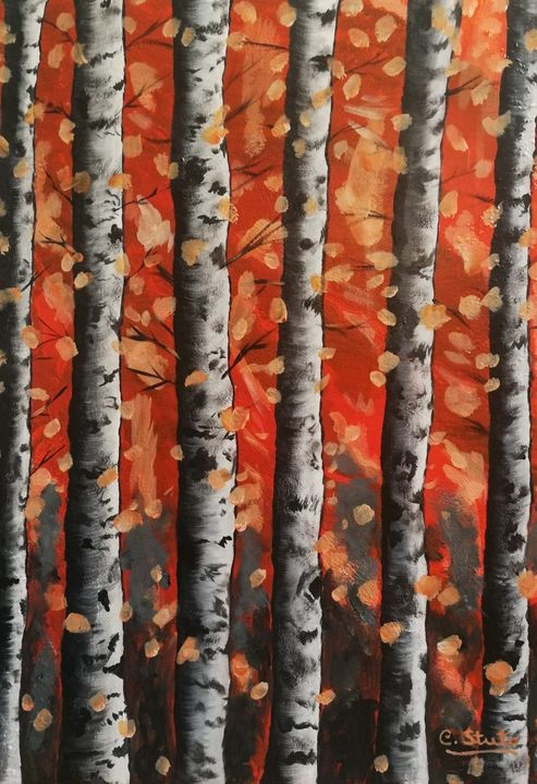 Autumn Leaves - Forever Paintings