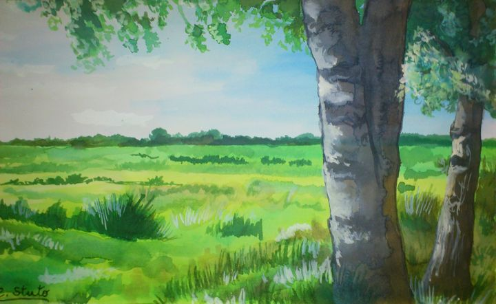 One Spring Morning - Forever Paintings