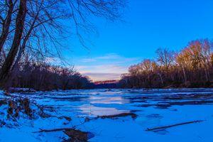 Rappahannock River Sunset - Vainuupo Avegalio