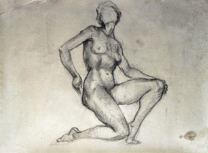 Female Figure by Moya - Tracy Hayden Artist Gallery