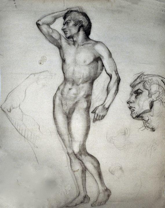 Male Figure by Moya - Tracy Hayden Artist Gallery