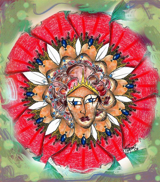 Royal Flower - Tracy Hayden Artist Gallery