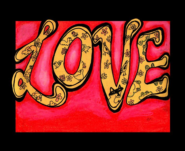 Love - Tracy Hayden Artist Gallery