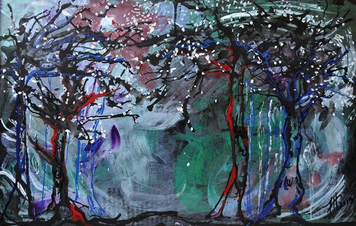 Spirit Trees - Tracy Hayden Artist Gallery