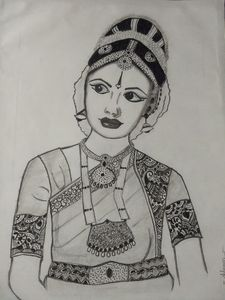 Classical dancer potrait