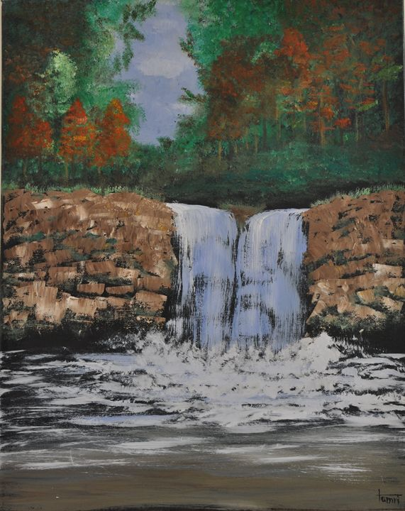 Waterfall - Creations by Tamri