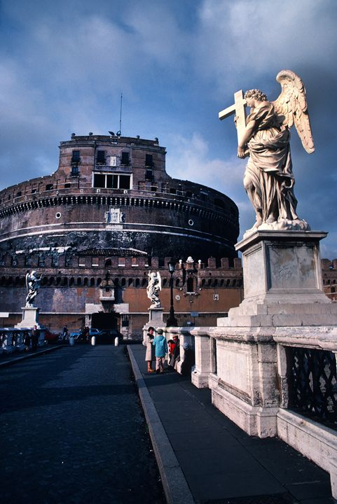 Castel Sant 'Angelo in Rome - Carl Purcell - Global Photography