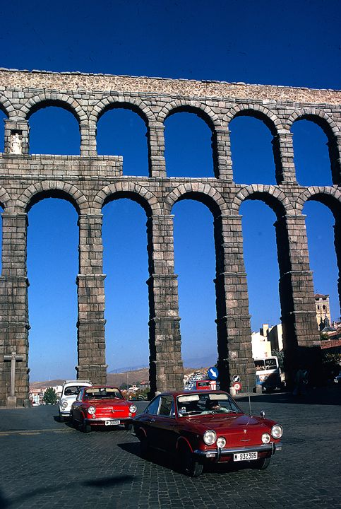 Roman Aquaduct in Segovia - Carl Purcell - Global Photography