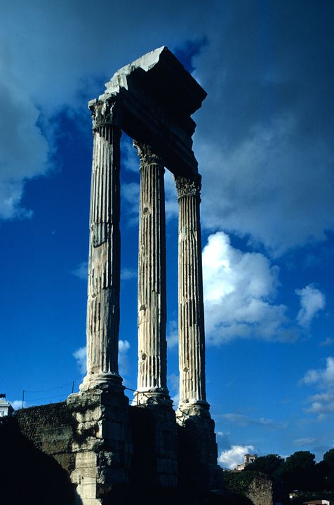 Columns in Roman Forum - Carl Purcell - Global Photography