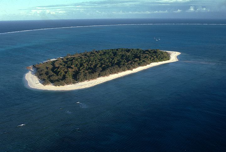 Heron Island on Great Barrier Reef - Carl Purcell - Global Photography