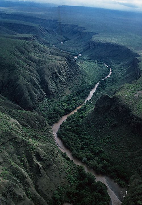 River Winds Across Ethiopia - Carl Purcell - Global Photography