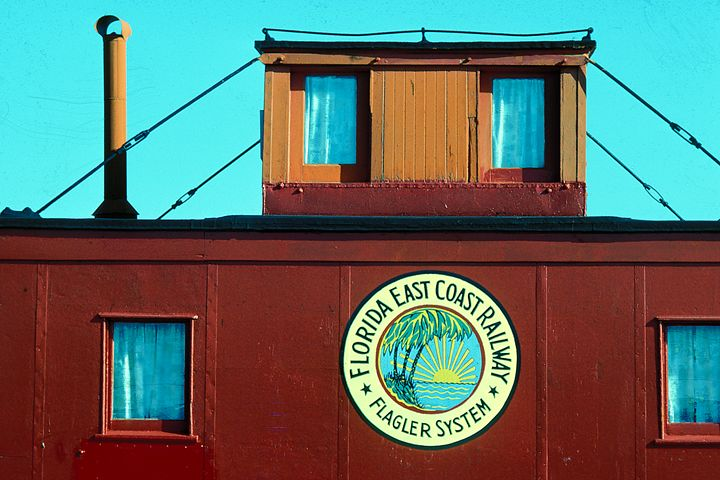 Red Caboose - Carl Purcell - Global Photography