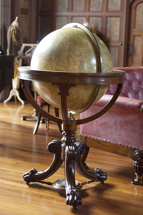 Celestial Globe in Alnwick Castle - Carl Purcell - Global Photography