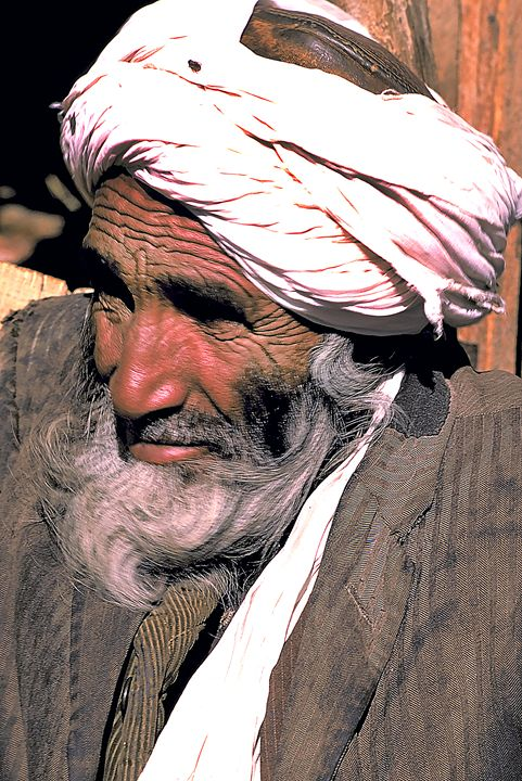 Elder in Afghanistan Village - Carl Purcell - Global Photography