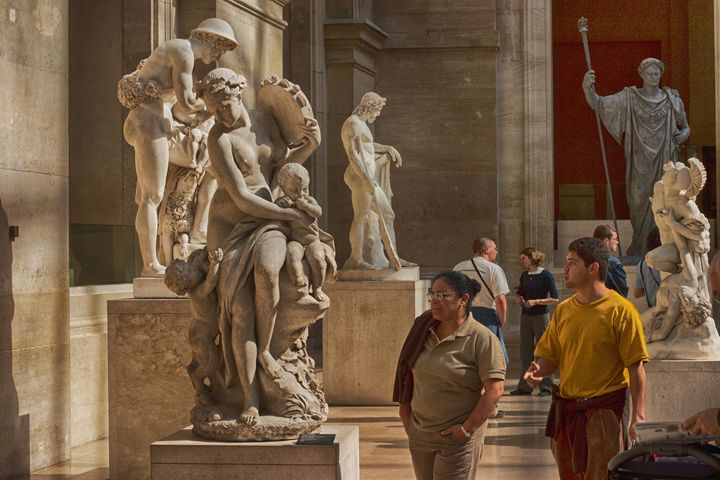 Sculpture at the Louvre in Paris - Carl Purcell - Global Photography