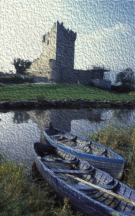Ruins of Dunlough Castle - Carl Purcell - Global Photography