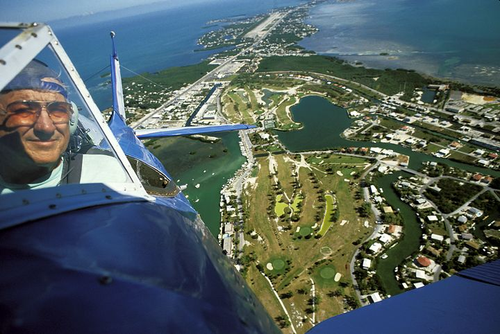 Flying Over Florida Keys - Carl Purcell - Global Photography
