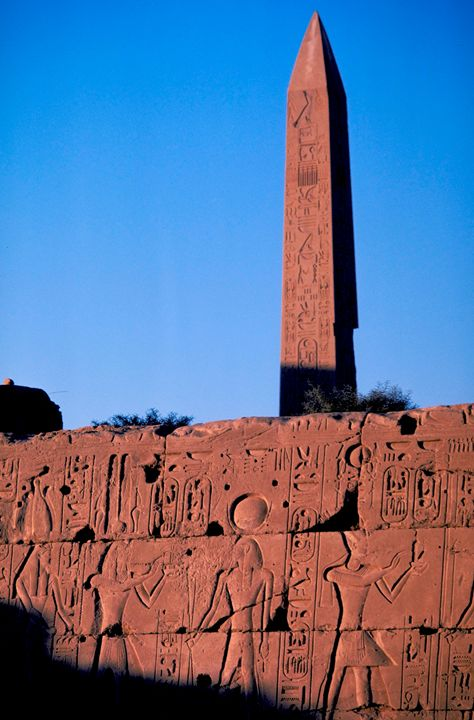 Ruins at Karnak in Luxor Egypt - Carl Purcell - Global Photography