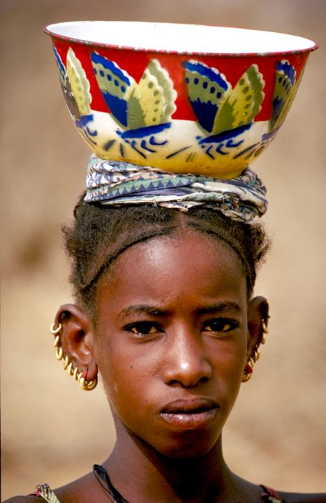 girl with pierced ears - Carl Purcell - Global Photography