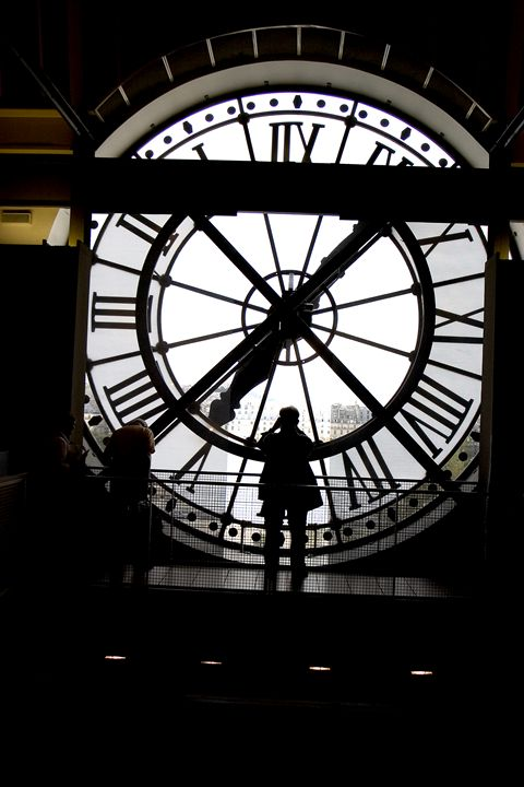 Giant Clock in Paris - Carl Purcell - Global Photography