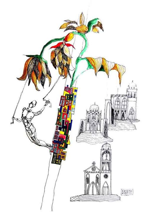 East/ west - Ernesto Graditi artworks