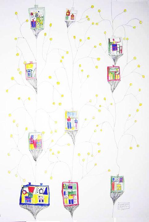 Elevators - Ernesto Graditi artworks