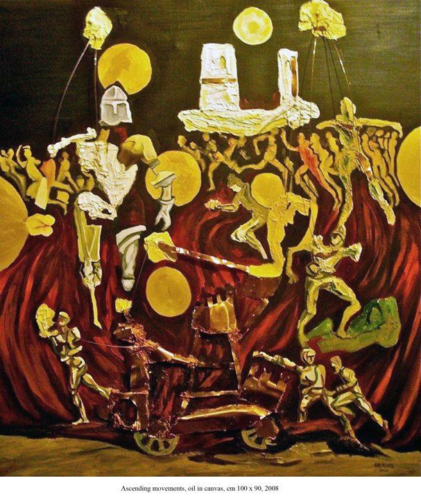 Ascending movements - Ernesto Graditi artworks