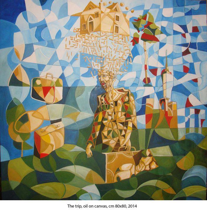 The trip - Ernesto Graditi artworks