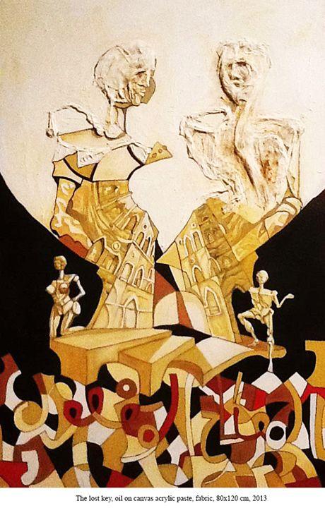 The lost key - Ernesto Graditi artworks