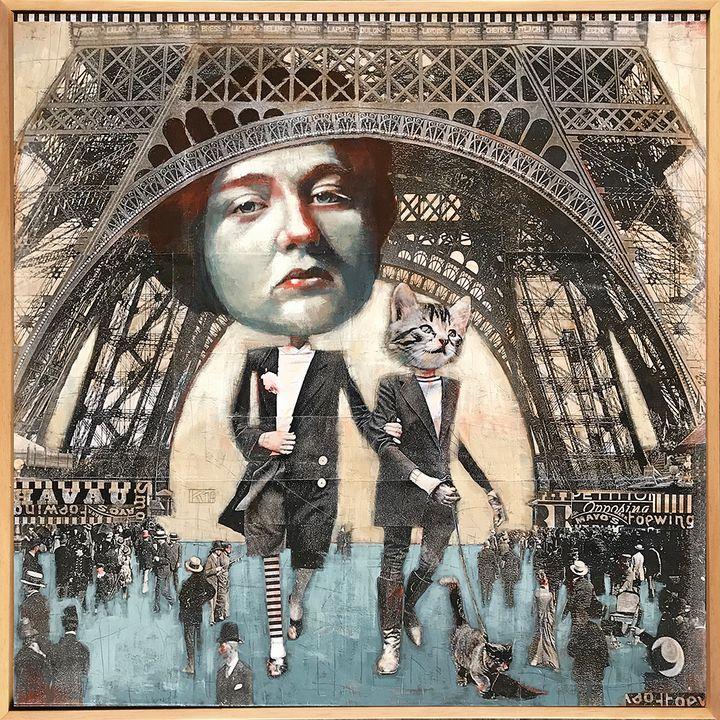 Paris Catwalk - Karen Wippich Art