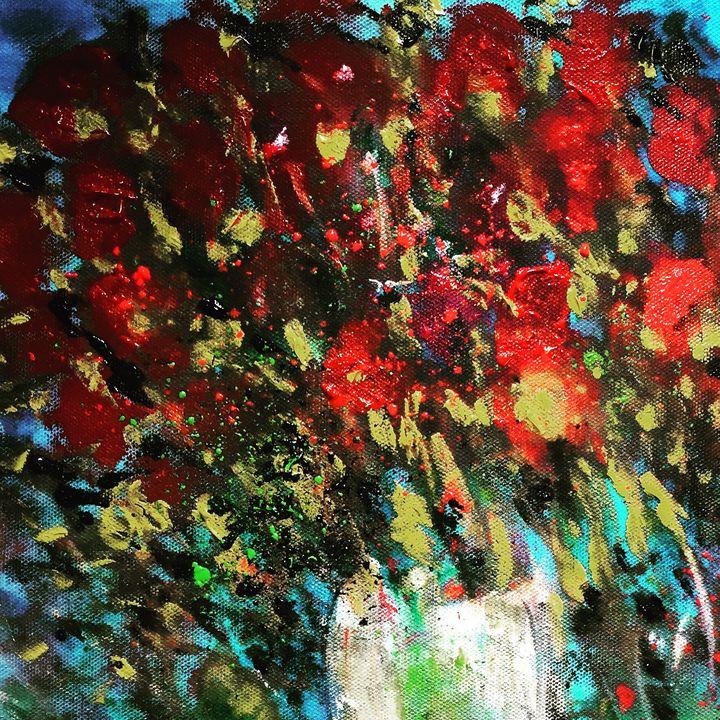 Blooming joy - Linda naili fineart