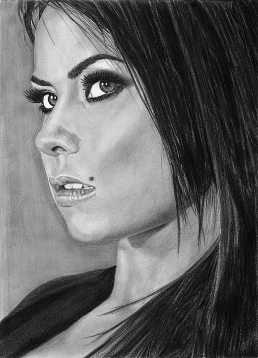 Custom pencil portrait - Claudiu