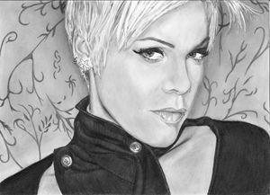 A4 custom pencil portrait