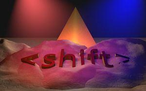 <shift>