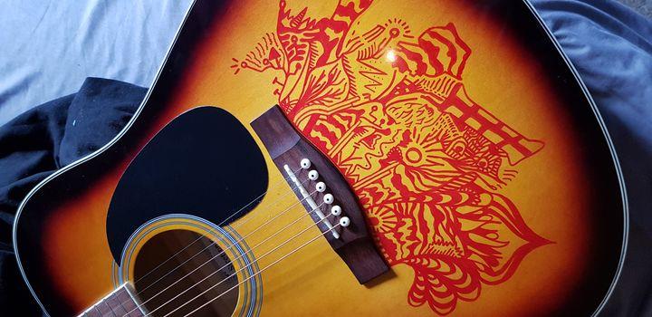 Guitar Customisation - Logan's Designs