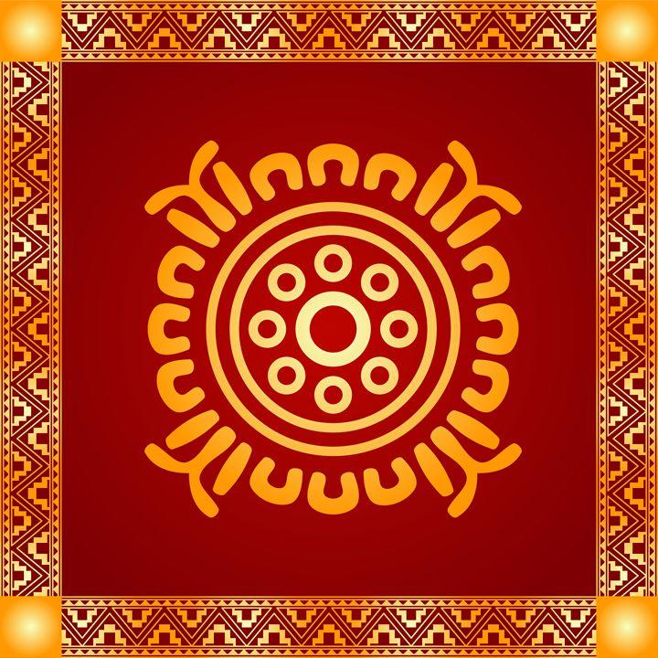 American indians and Maya symbols - tillhunter