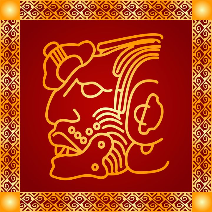 Maya and Aztec Indians symbol - tillhunter