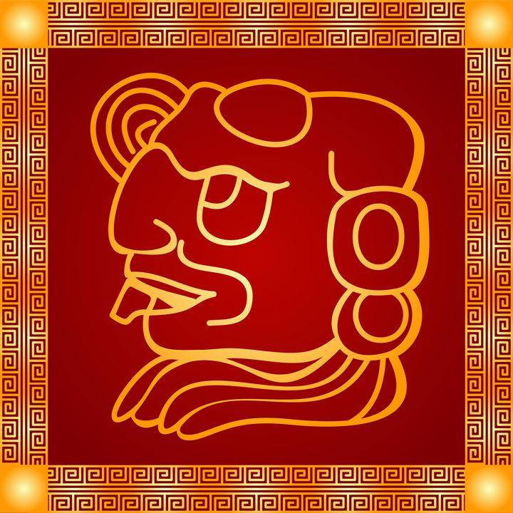Maya and Aztec Indians symbol - tillhunter