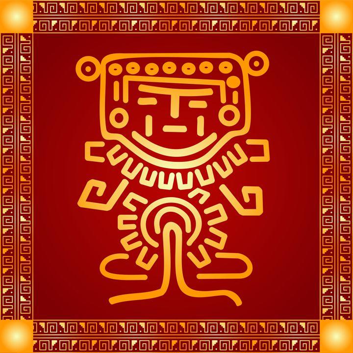 Maya and Aztec symbol - tillhunter